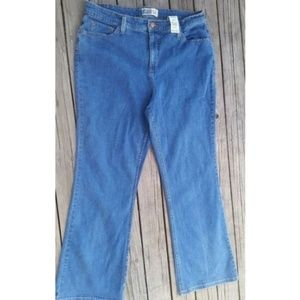 LEVI'S At The Waist Boot cut Jeans 16 Short